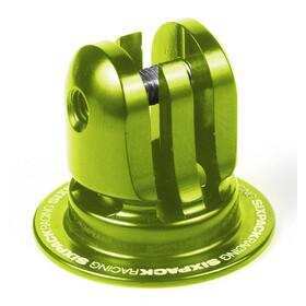 Sixpack Aheadcap Kamerahalterung electric-green